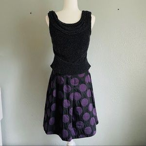 Anthropologie CLC It's My Party polka dot skirt